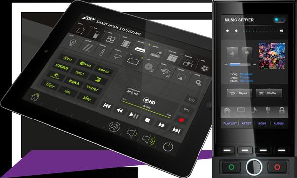 RTI - Haustechnik Tablet und T3x